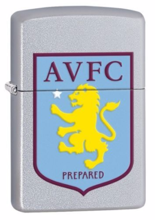 aston villa official zippo lighter. Black Bedroom Furniture Sets. Home Design Ideas