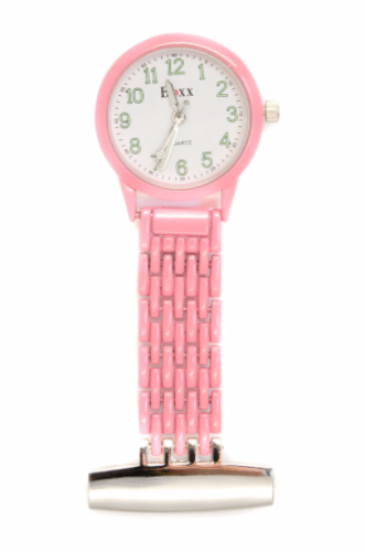 Pink Luminous Nurse or Beauticians Fob Watch Personalised