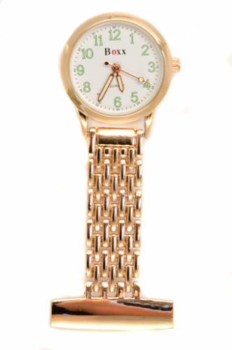 Rose Gold Luminous Nurse or Beauticians Fob Watch Personalised