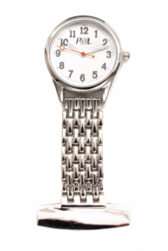 Silver Plated Careers Fob Watch Personalised
