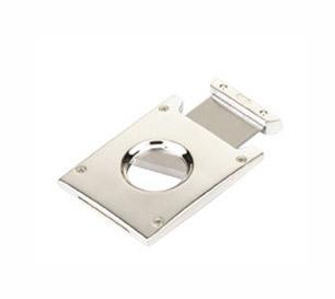 Single Blade Silver Plated Cigar Cutter Personalised