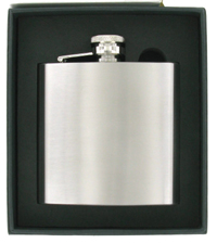 Stainless Steel Hip Flask Personalised