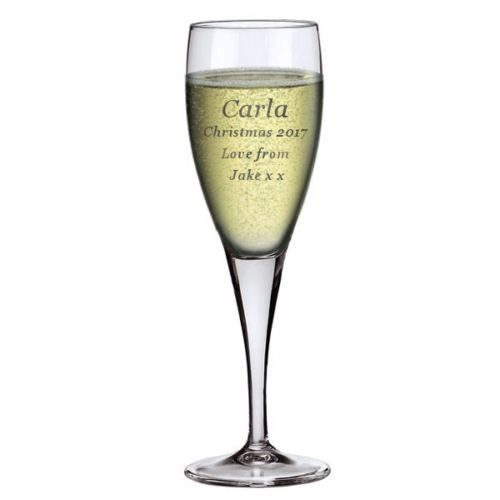 6oz Champagne Flute  Personalised For Christmas | County Engraving