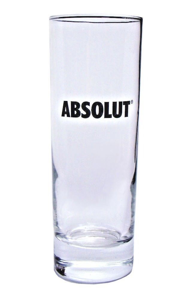 Absolut Vodka Glass Personalised | County Engraving
