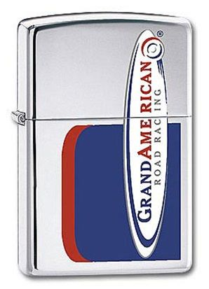 American Road Racing Zippo Lighter Personalised
