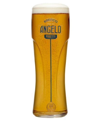 Angelo Poretti 1 Pint Pilsner Lager Glass Personalised