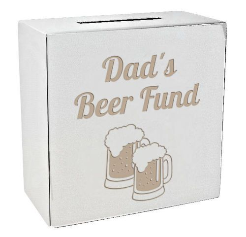 Beer Fund Money Box Personalised | County Engraving