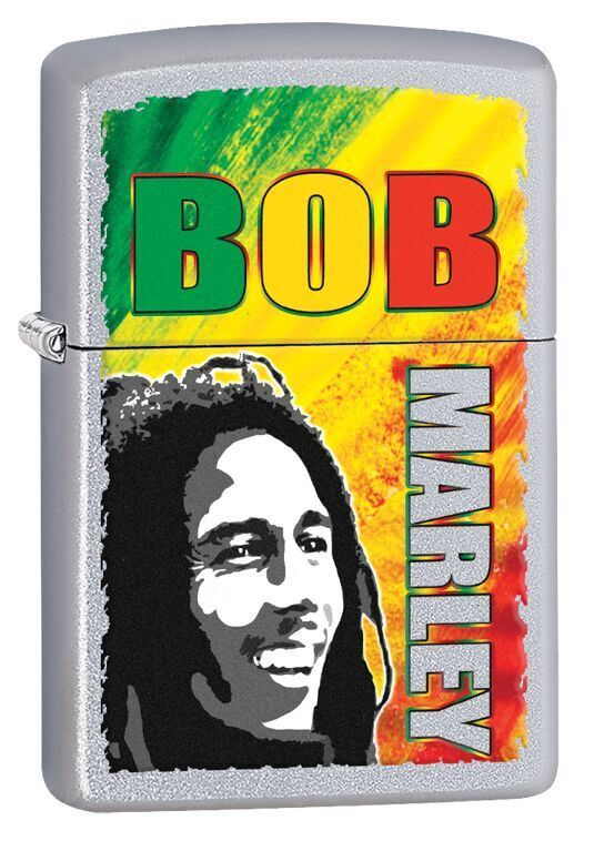 Bob Marley Many Colours Zippo Lighter Personalised
