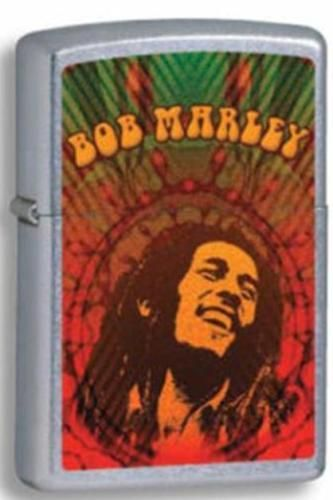 Bob Marley Street Chrome Zippo Lighter Personalised