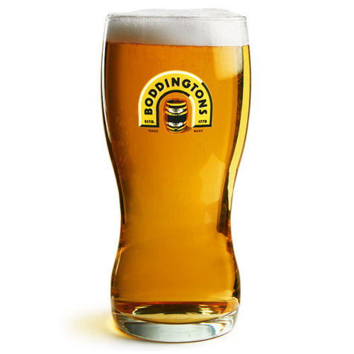 Boddingtons 1 Pint Glass Personalised | County Engraving
