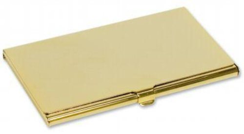 Business card holder personalised county engraving colourmoves
