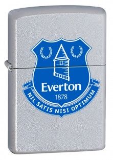 Everton FC Offical Zippo Lighter Personalised