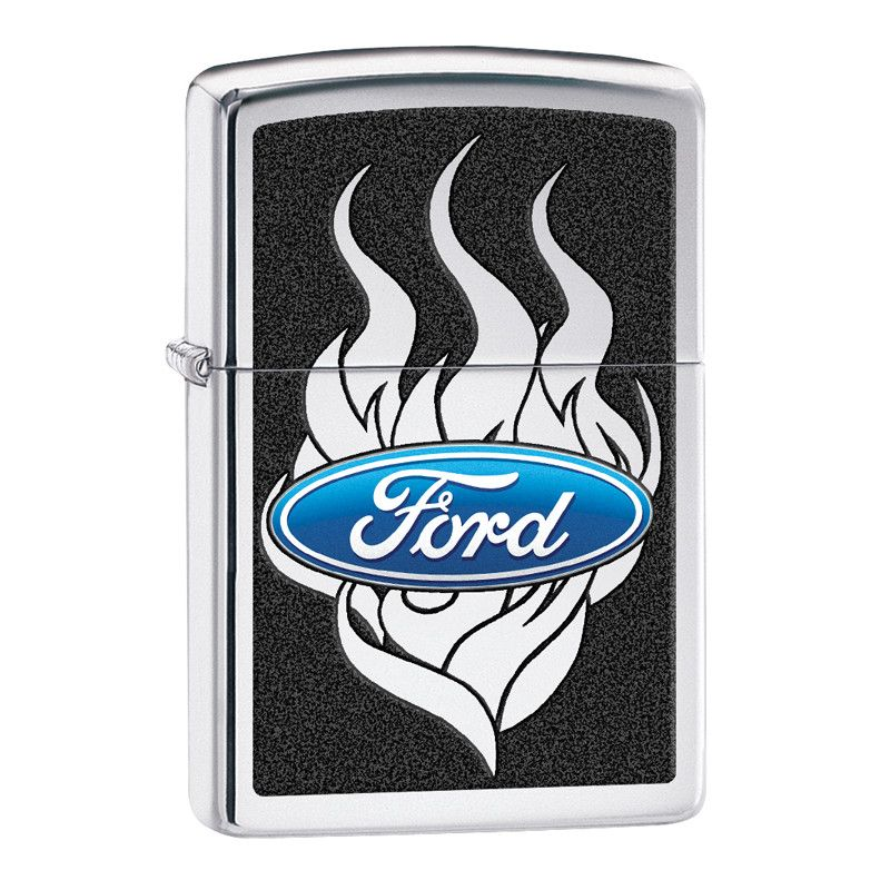 Ford Flame Zippo Lighter Personalised