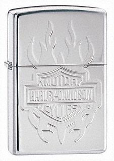 Harley Davidson Tattoo Design Zippo Lighter Personalised