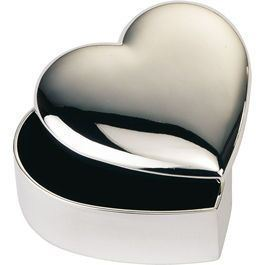 Heart Shaped Trinket Box Personalised