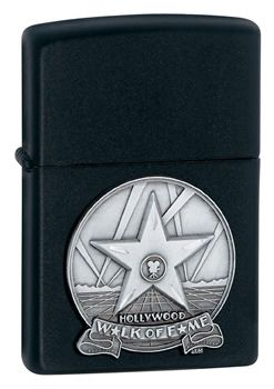 Hollywood Legend Walk of Fame Zippo Lighter Personalised