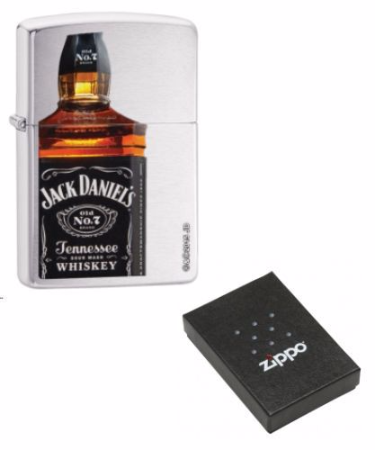 Jack Daniels Tennessee Whisky Zippo Lighter Personalised