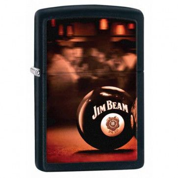 Jim Beam Ball Zippo Lighter Personalised