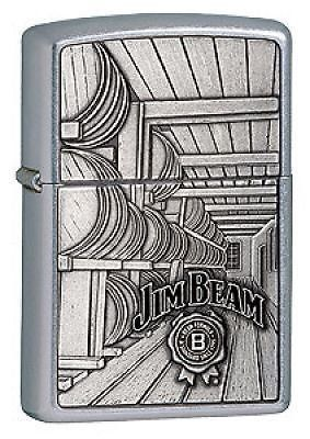 Jim Beam Barrels Emblem Zippo Lighter Personalised