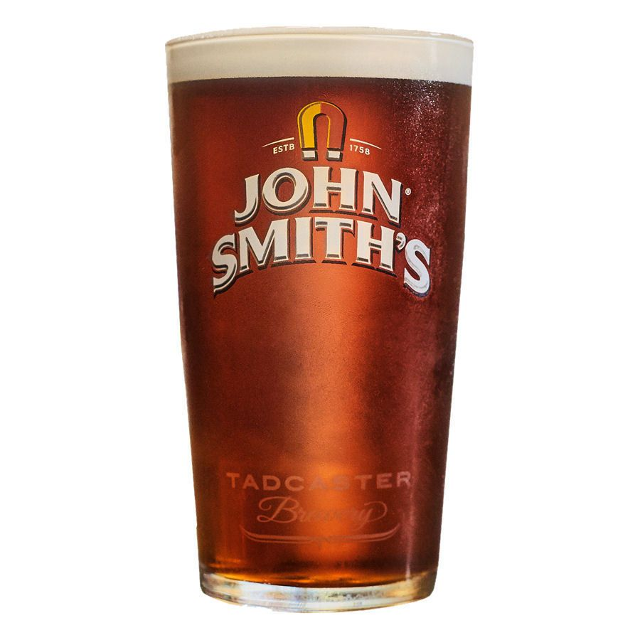 John Smiths 1 Pint Glass Personalised County Engraving