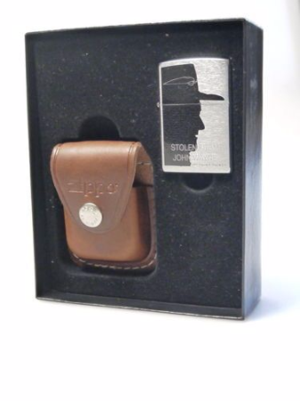 John Wayne Limited Edition Zippo Lighter with Leather Pouch
