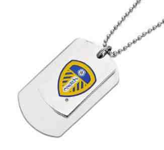 Leeds United Double Army Tags Personalised