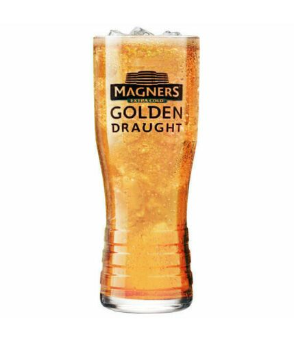Magners Cider Golden Draught  Pint Glass Personalised | County Engraving