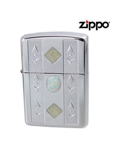 Opalescence Heavy Wall Armor Case Zippo Lighter