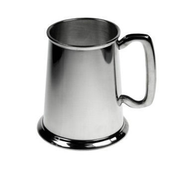 Plain Pewter Tankard Personalised