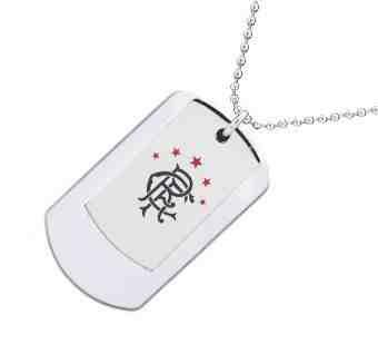 Rangers Double Army Tags Personalised