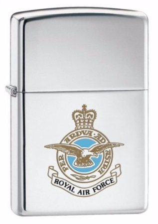 Royal Air Force Zippo Lighter Personalised