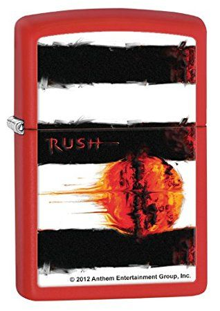 Rush Vapor Trails Zippo Lighter Personalised