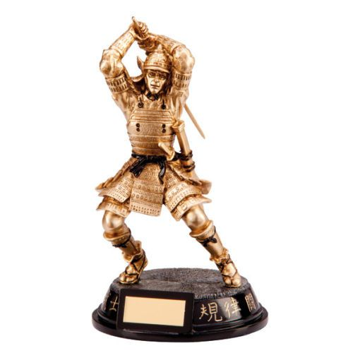 Samurai Warrior Martial Arts Trophy Personalised | County Engraving