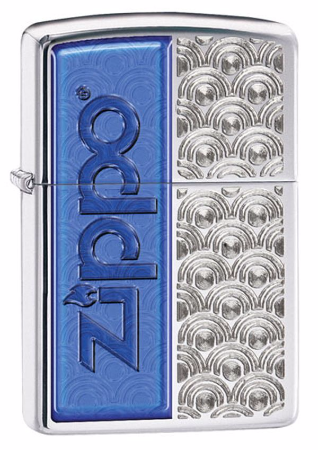 Special Design Polished Chrome Zippo Lighter