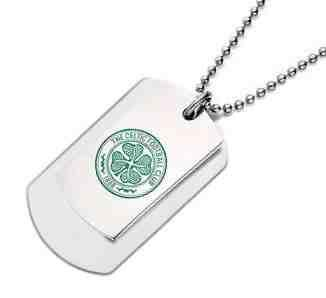 Stainless Steel Celtic Double Army Tags Personalised