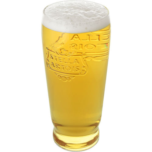 Stella Artois 1 Pint Tall Beer Glass Personalised | County Engraving
