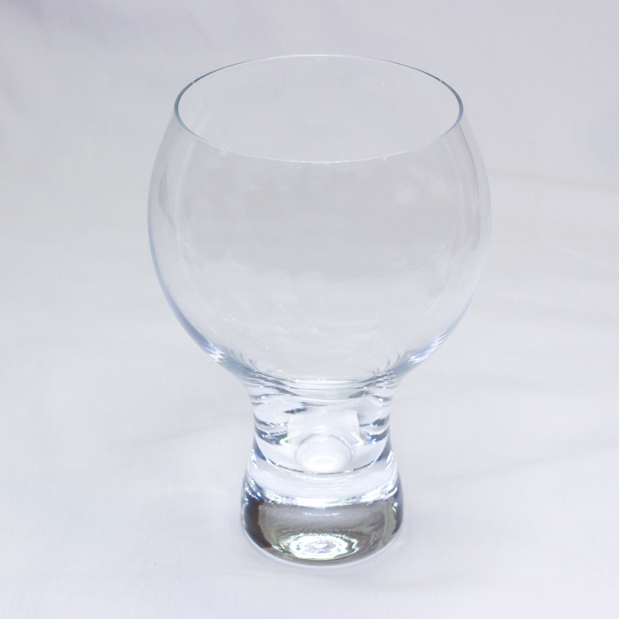 Thick Stem Gin Glass Personalised County Engraving