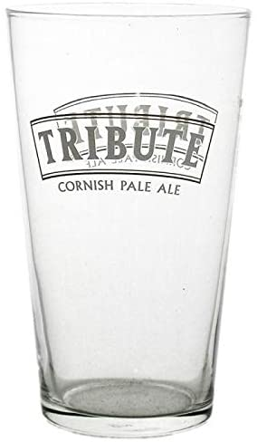 Tribute One Pint Ale Glass Personalised | County Engraving
