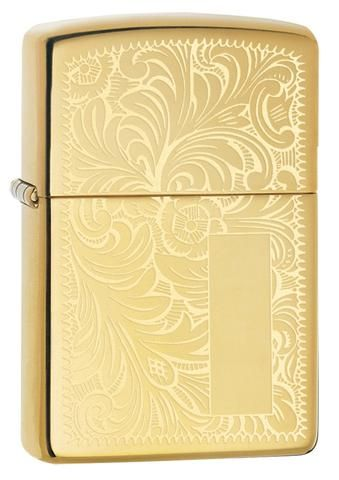 Venetian Brass Zippo Lighter Personalised
