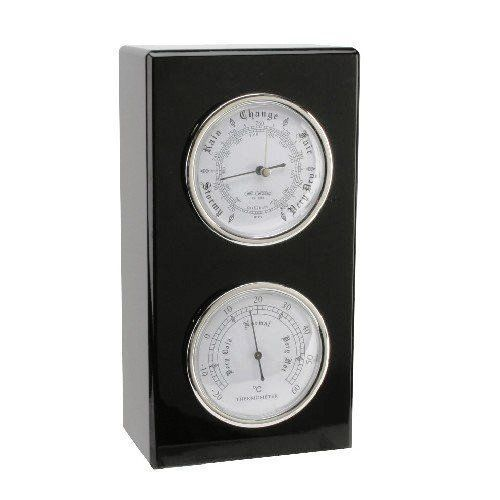 Wall or Desk Mounted Barometer and Thermometer Set Personalised | County Engraving