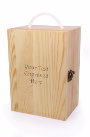 Wooden Storage Box for Tankards Personalised