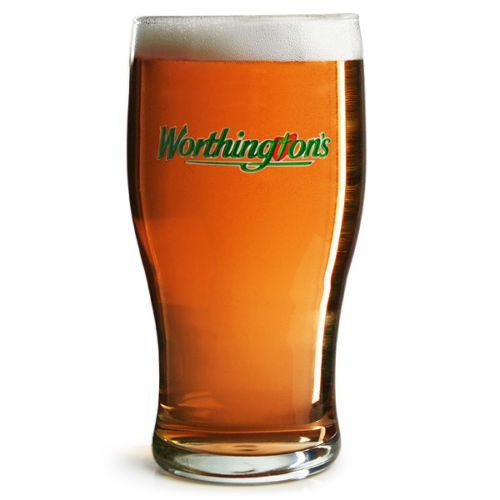 Worthington's Bitter 1 Pint Glass Personalised | County Engraving
